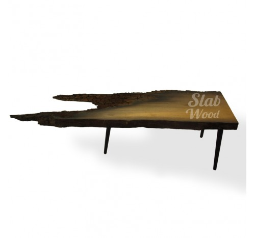 Loft-style Bog Oak Coffee Table №55
